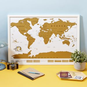 Scratch Map Original by Luckies of London