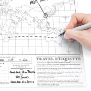 Scratch Map Travel Edition by Luckies