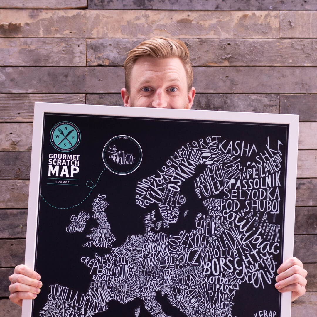 Callum Collie and their map