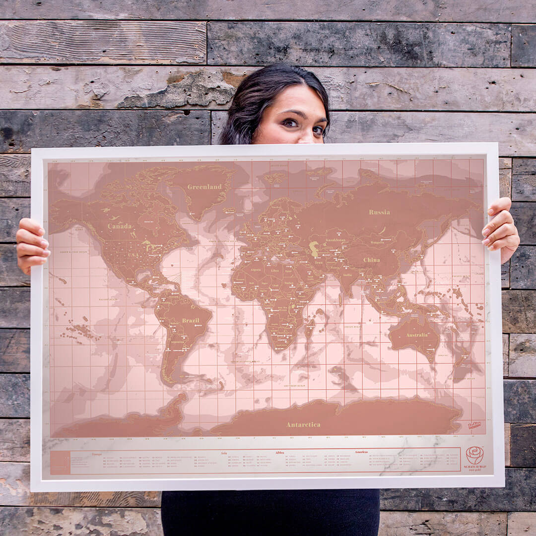 Magali Feraud and their map