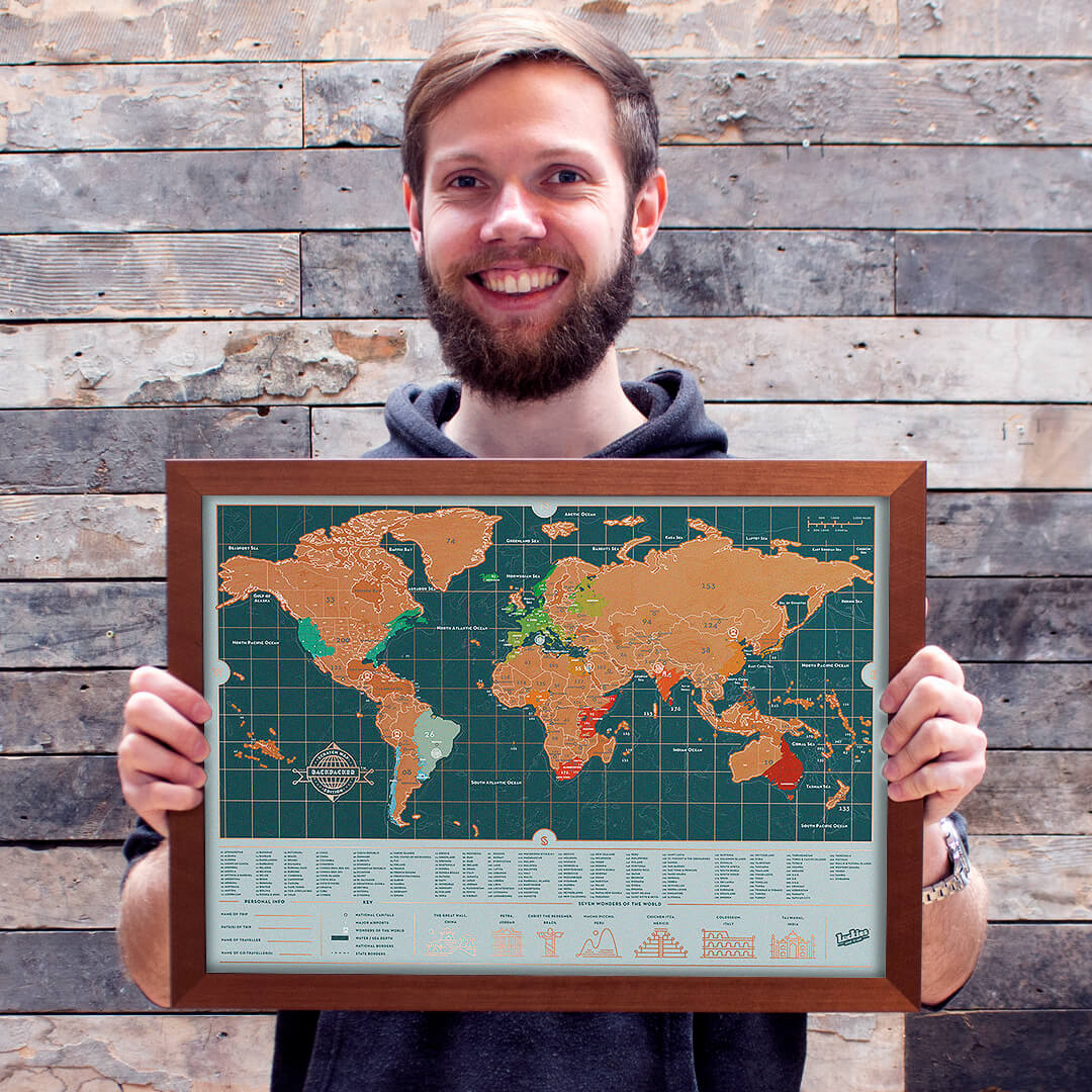 Dan Dawkins and their map