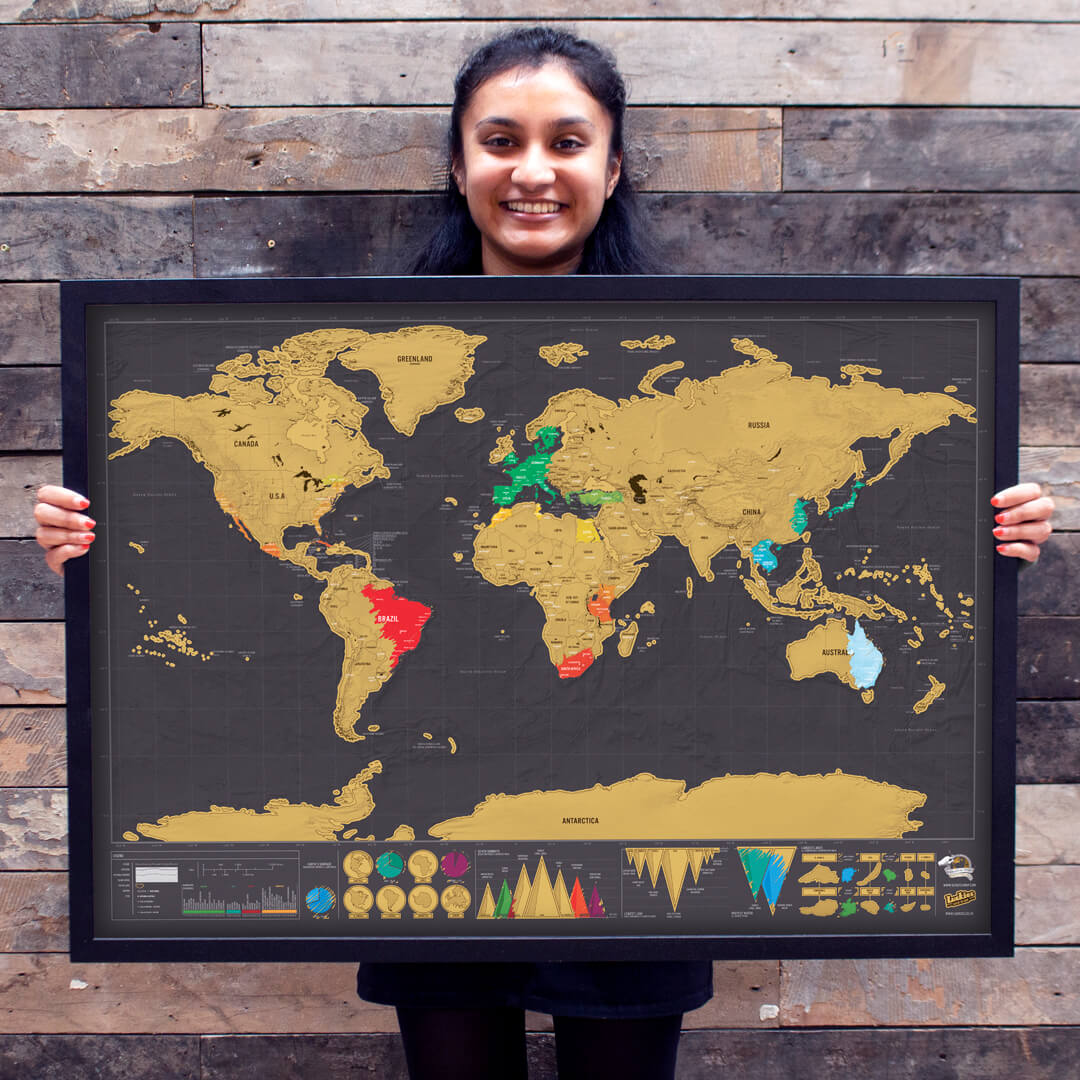 Neesha Mistry and their map