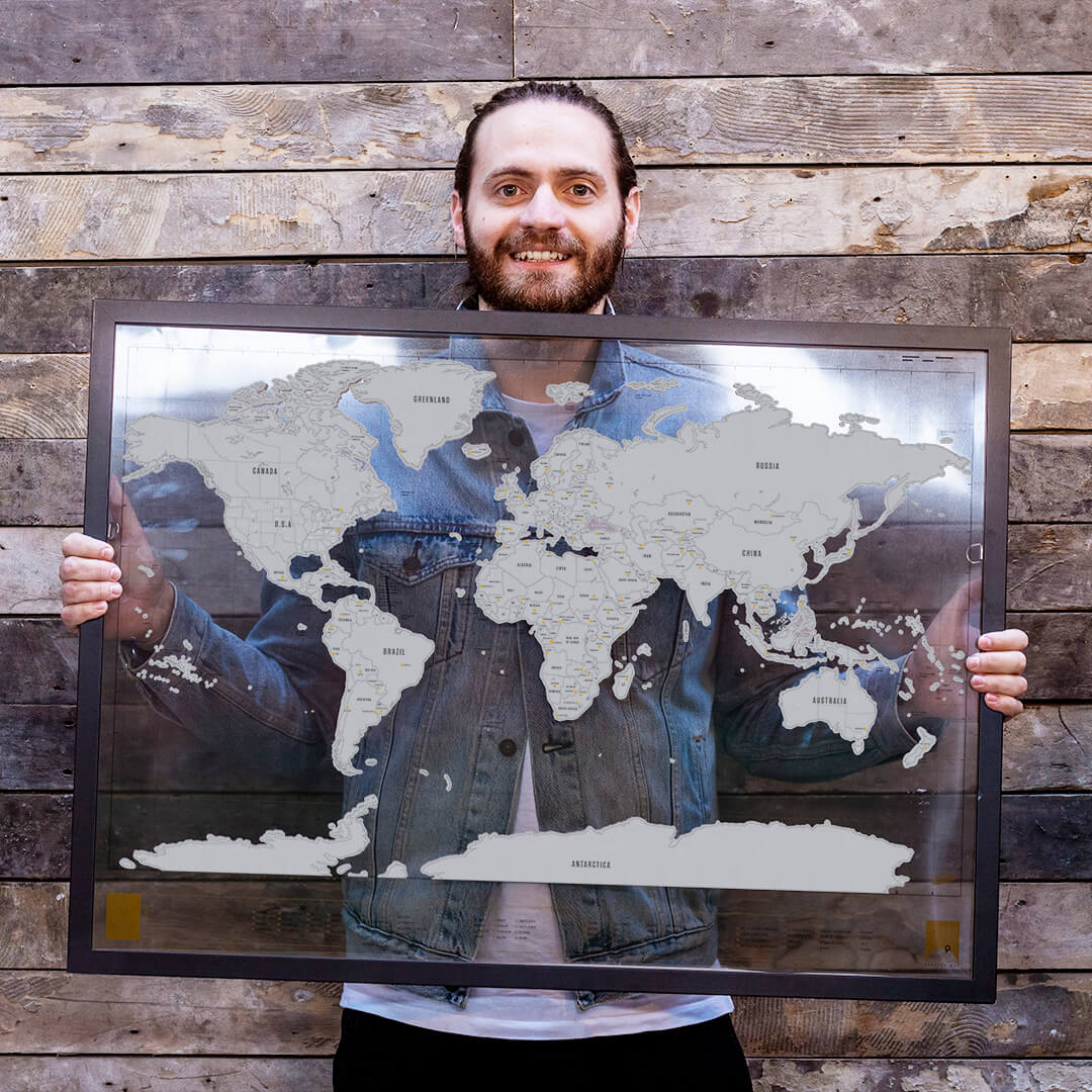 Mikey Fry and their map
