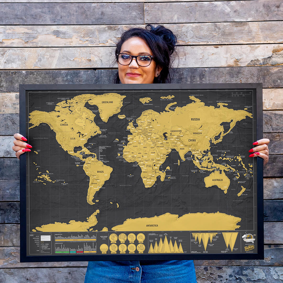 Chanelle Mason and their map