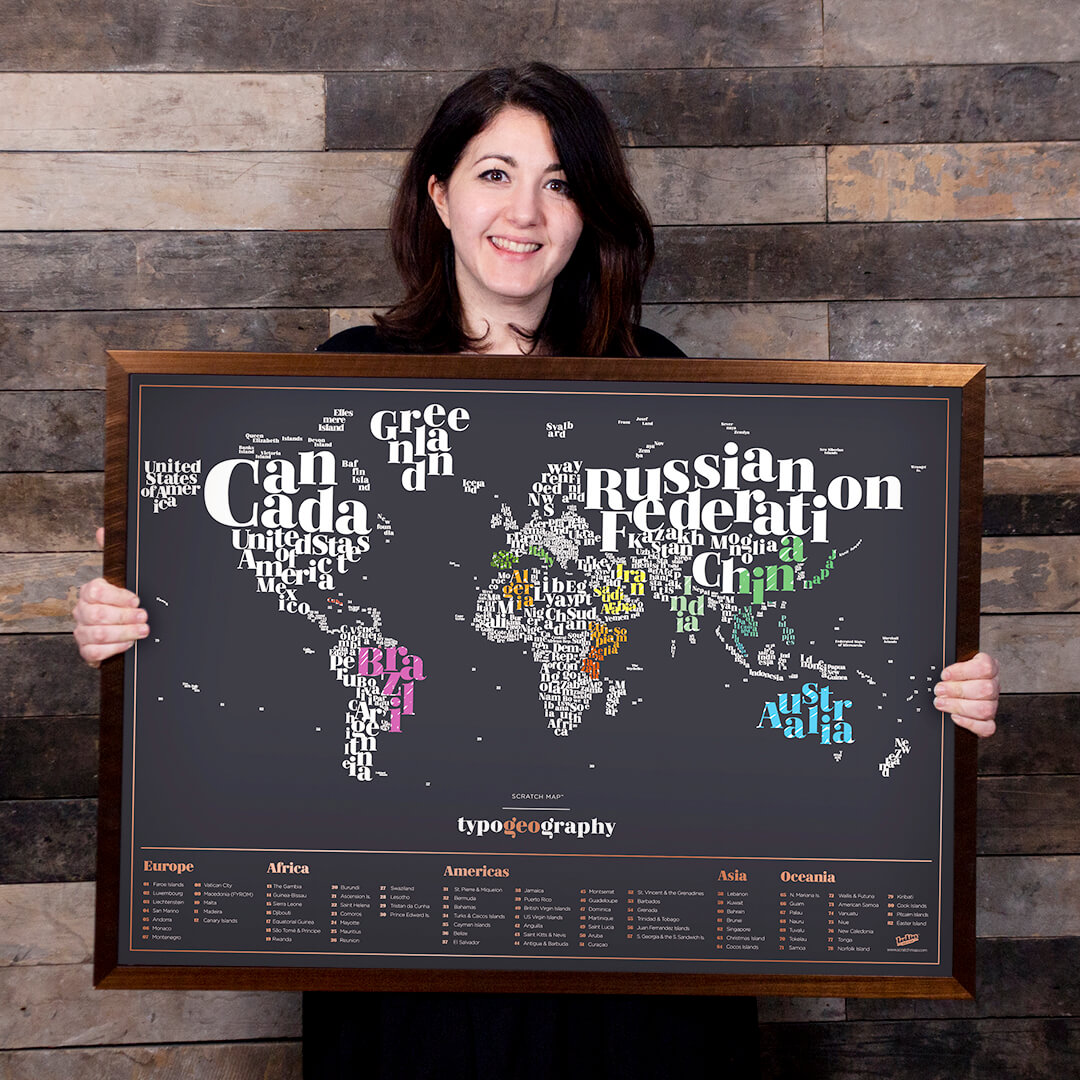 Jenni Day and their map