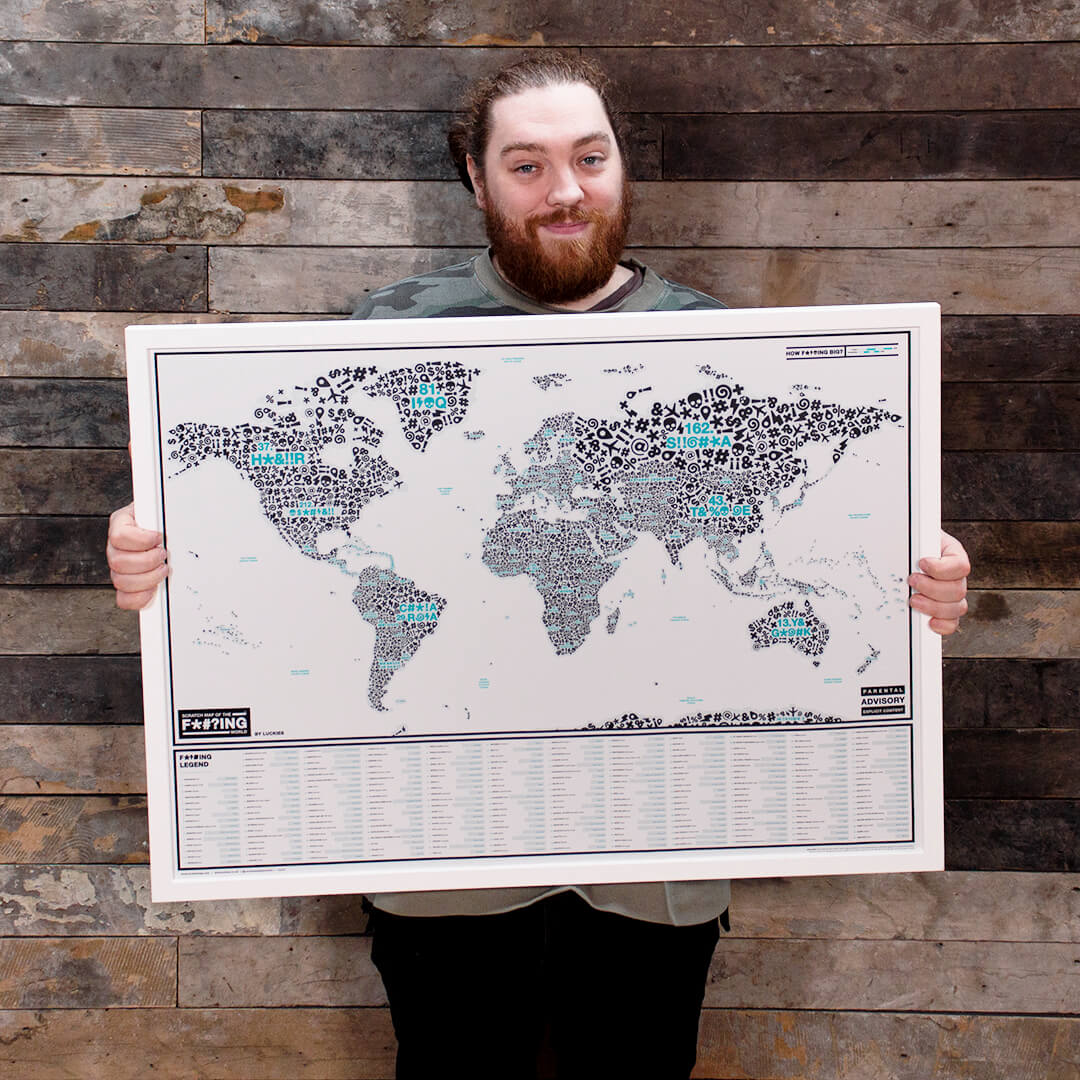 Barry Leigh-Delaney and their map
